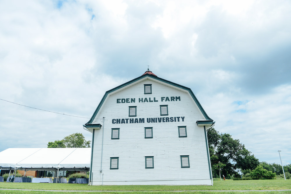 Exploring Chatham University's Eden Hall Campus // www.WithTheGrains.com