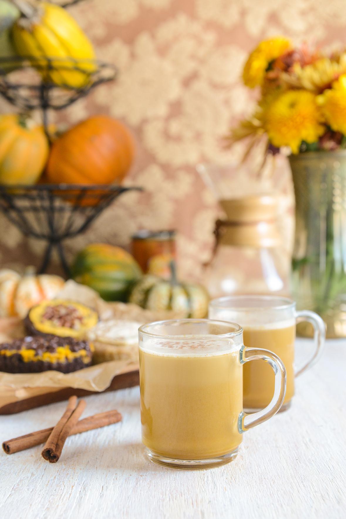 Pumpkin Spice Bulletproof Coffee