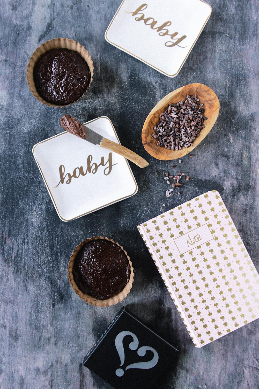 Dark Chocolate Atole {Vegan Sipping Chocolate} // www.WithTheGrains.com