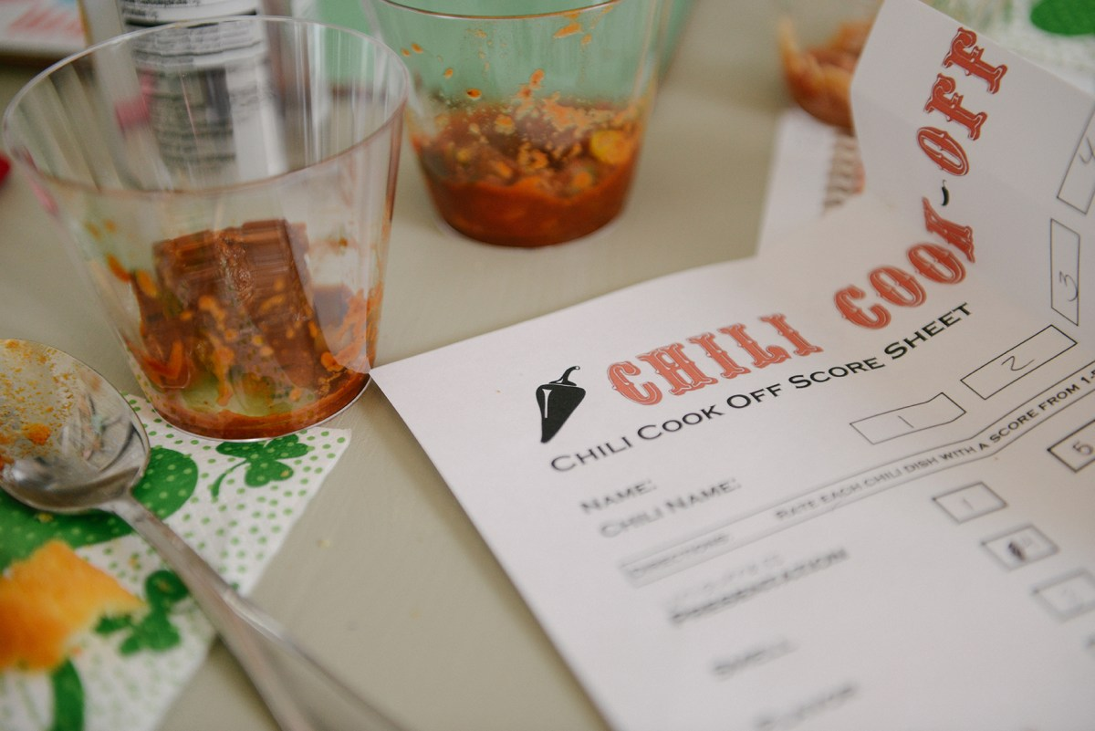 My Award-Winning Chili & A Chili Cook Off // www.WithTheGrains.com