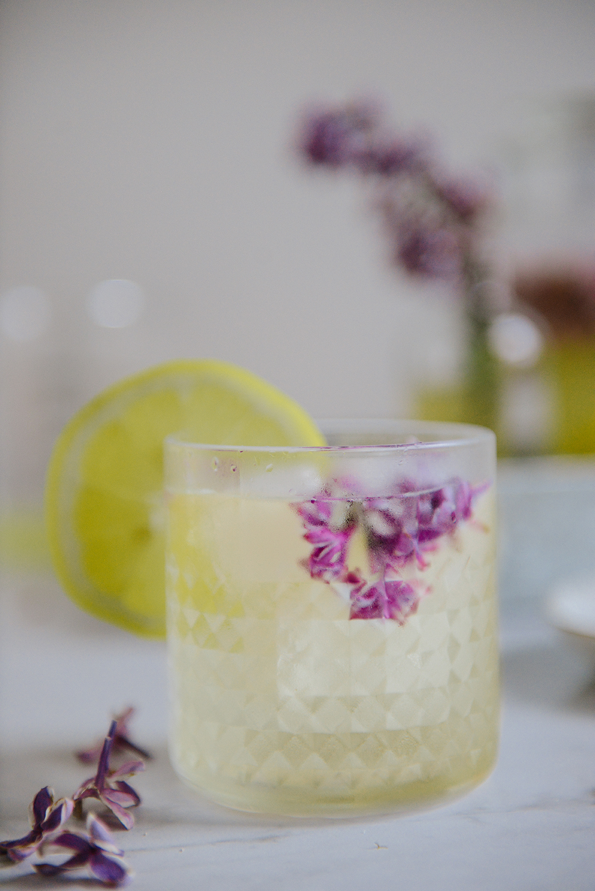 Fermented Honey Lilac Drink for Allergy Season