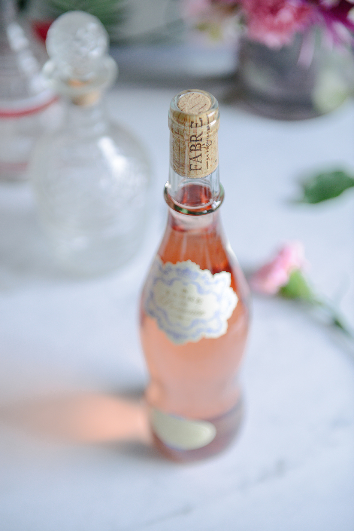 Cheers to the Weekend: Fabre en Provence Rosé // www.WithTheGrains.com