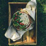 Gluten Free Rhubarb Cake for the Rustbelt Farmer's Birthday