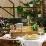 Cheers to the Weekend: White Wine Sangria and Cakes