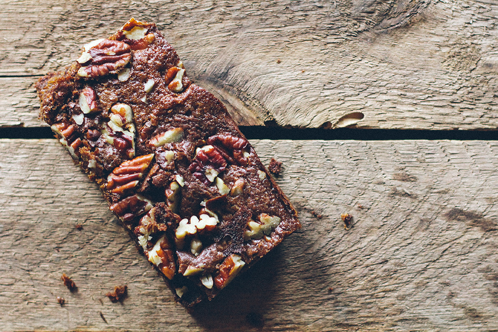 Whole Grain Teff Blondies (Gluten-Free) // www.WithTheGrains.com