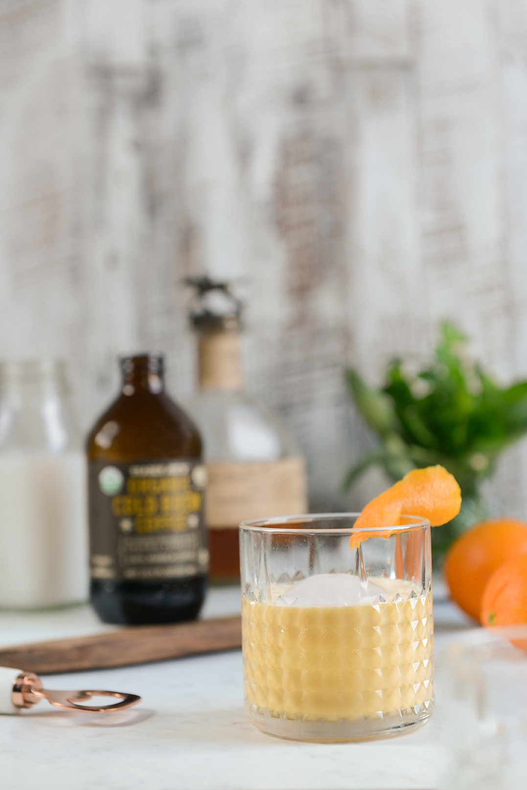 Cheers to the Weekend: Cold Brew Coffee Cocktail & Cake