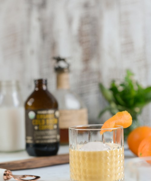 Cheers to the Weekend: Cold Brew Coffee Cocktail & Cake // www.WithTheGrains.com