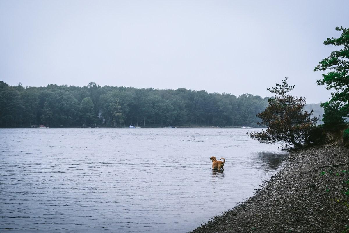 A Lake House Weekend in Deep Creek, MD // www.WithTheGrains.com