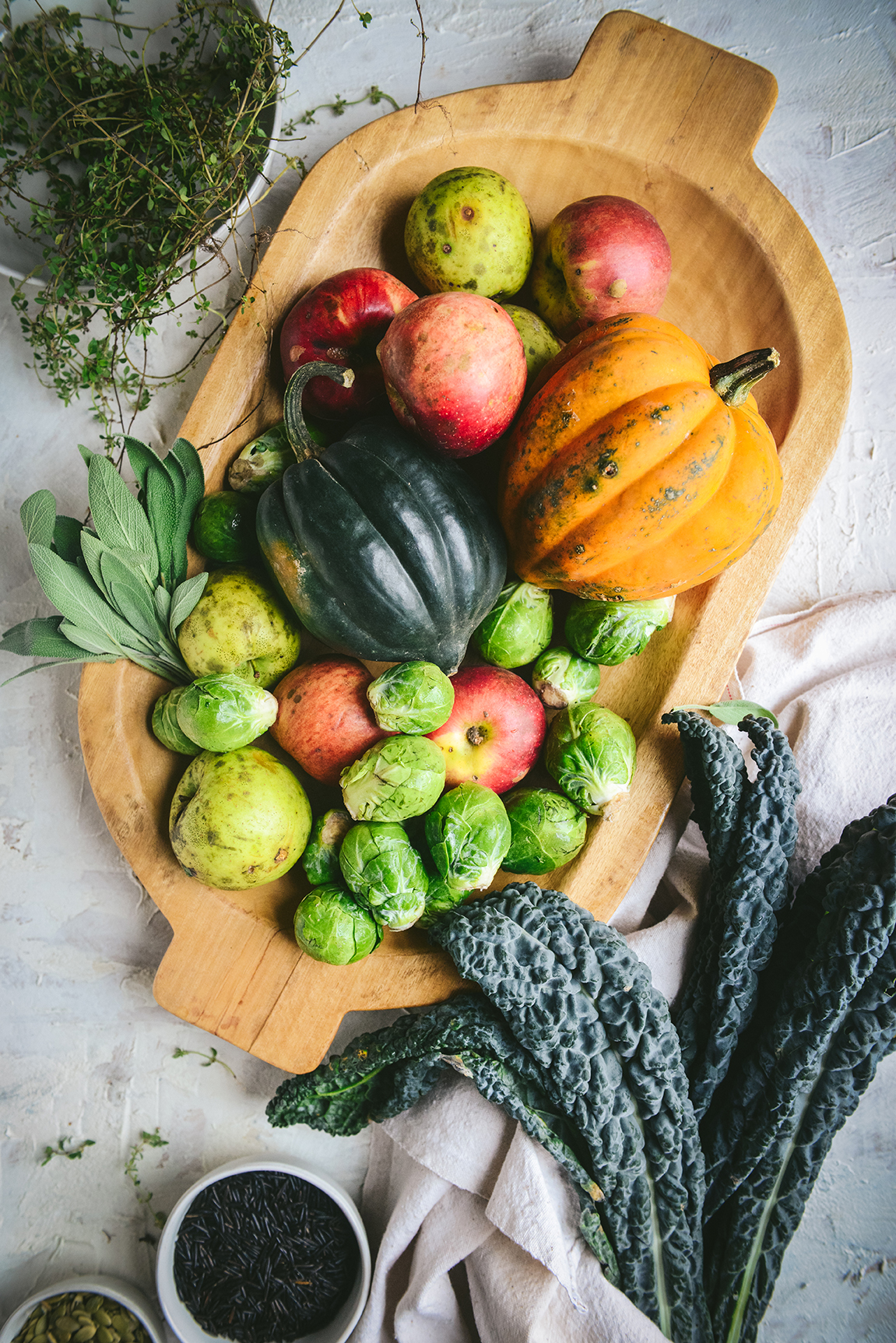 A Healthy Fall Grain Bowl (Gluten Free) // www.WithTheGrains.com