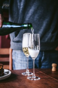 Champagne, Pork Chops & Presents: How We Christmas'd in 2018 // www.WithTheGrains.com