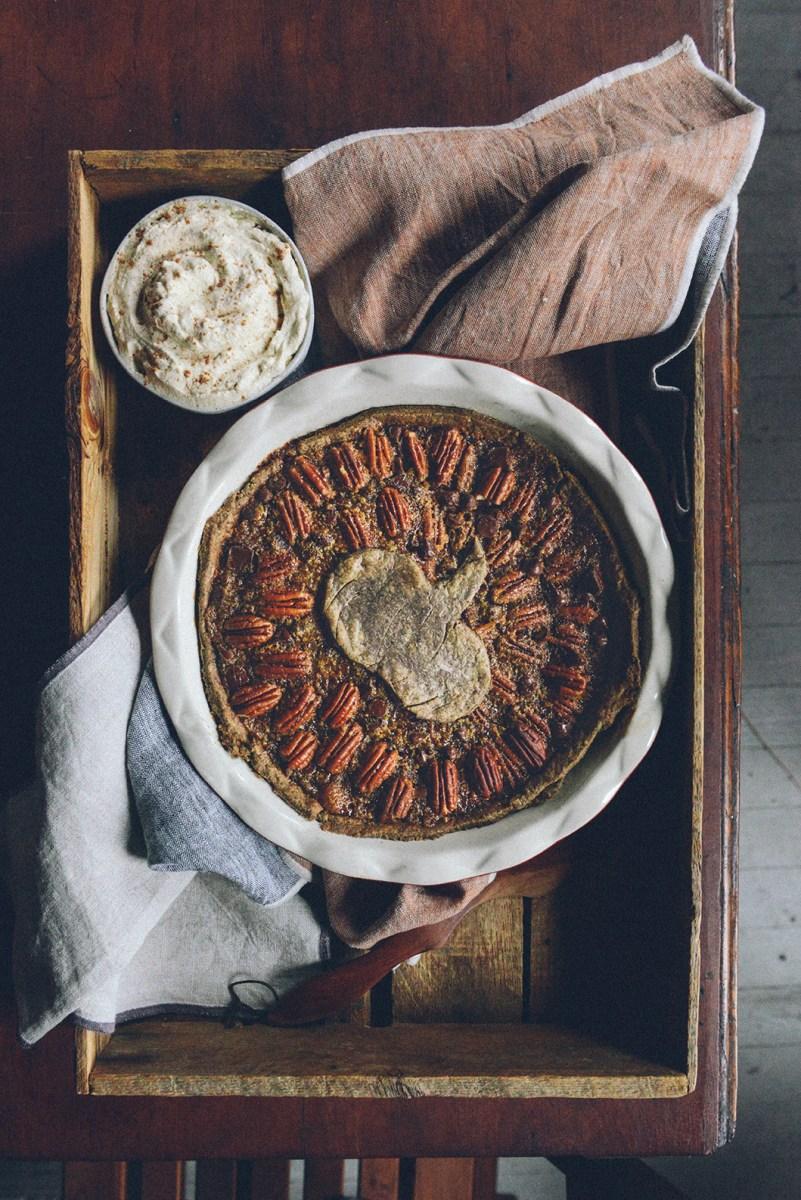 Pumpkin Pecan Pie aka Pumpcan Pie (Gluten Free)