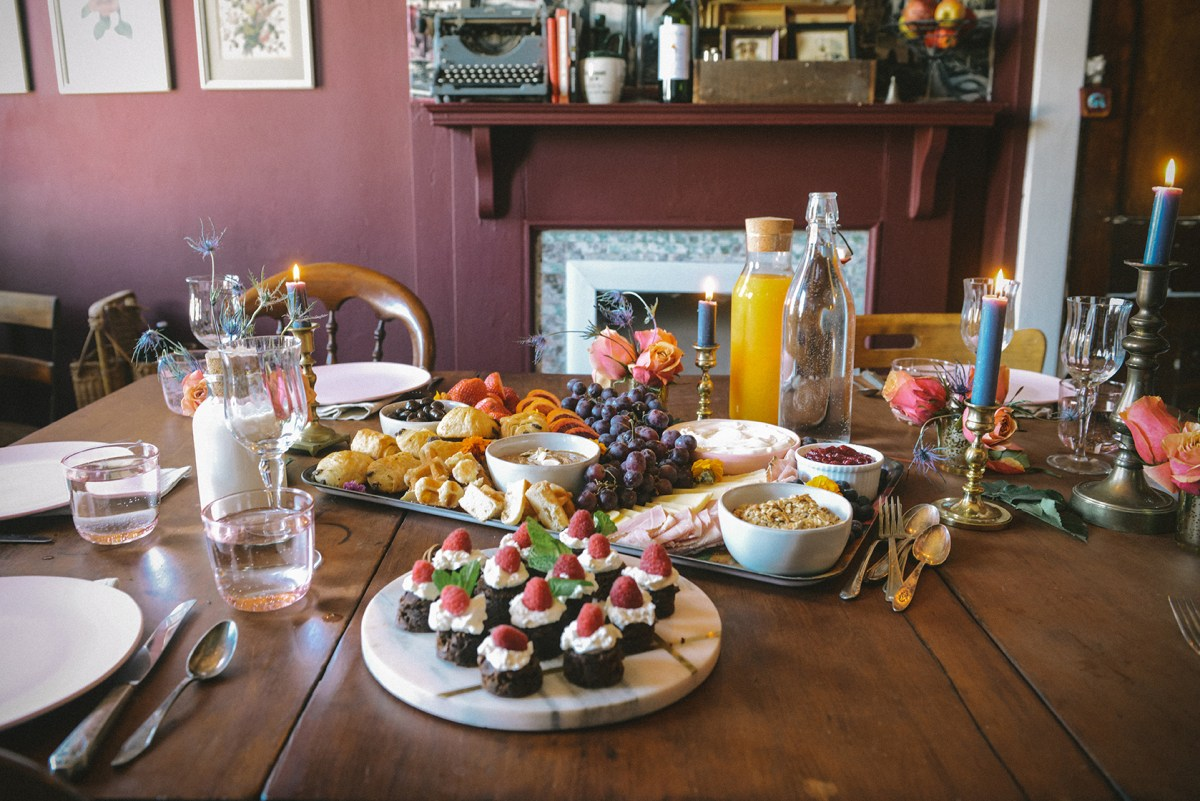 A Brunch in Celebration of Worth Manifesto // www.WithTheGrains.com