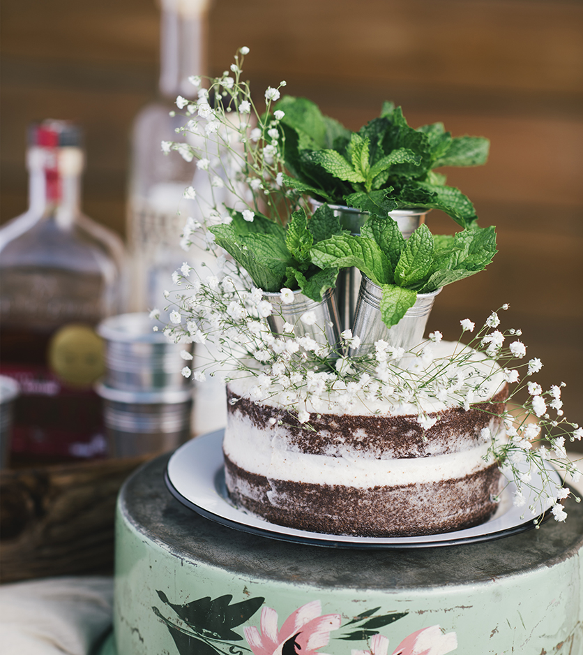 "Derby Day Mint Julep Cake from ""The Gluten-Free Grains Cookbook"" // www.WithTheGrains.com"