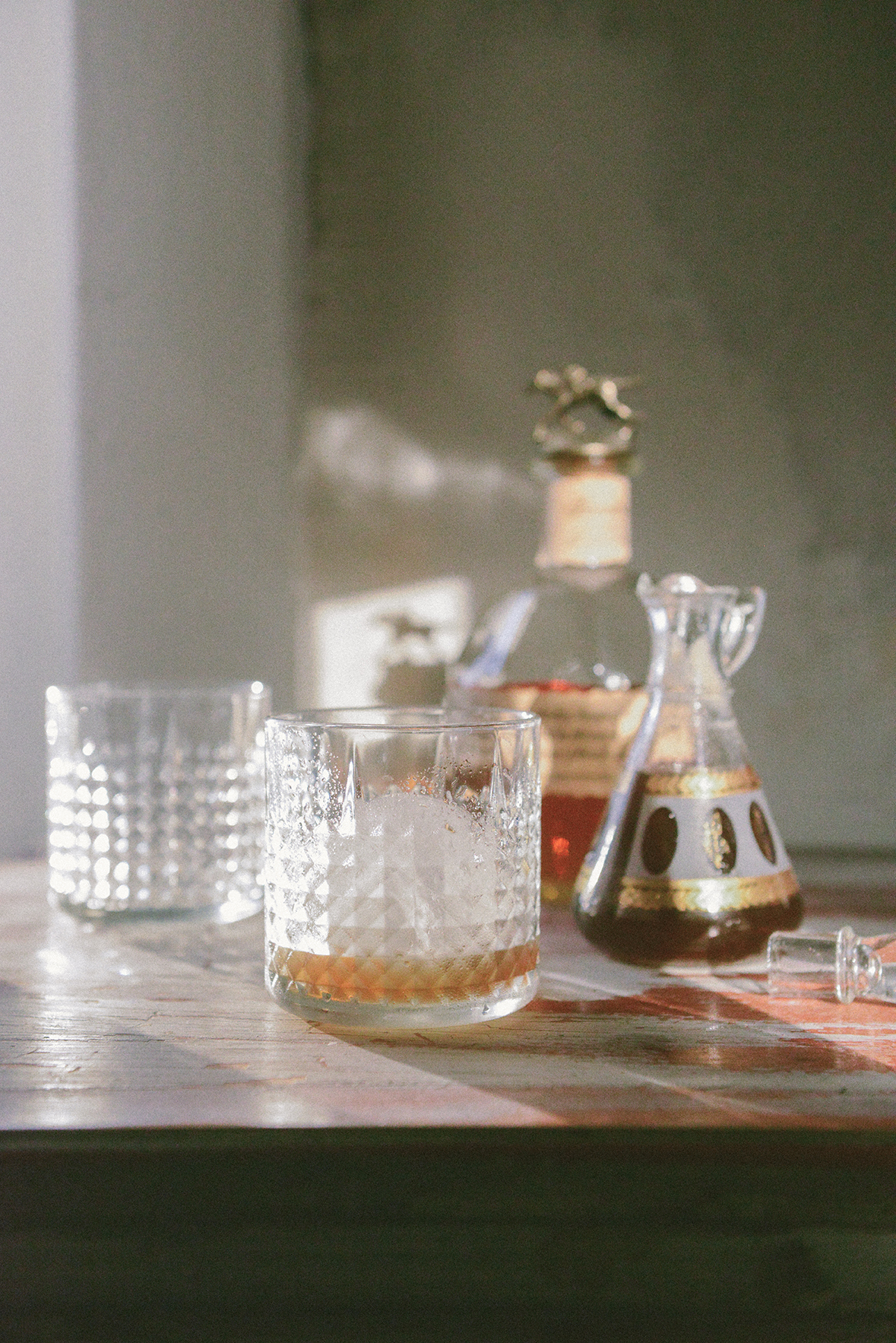 A new take on the classic Old Fashioned // www.WithTheGrains.com