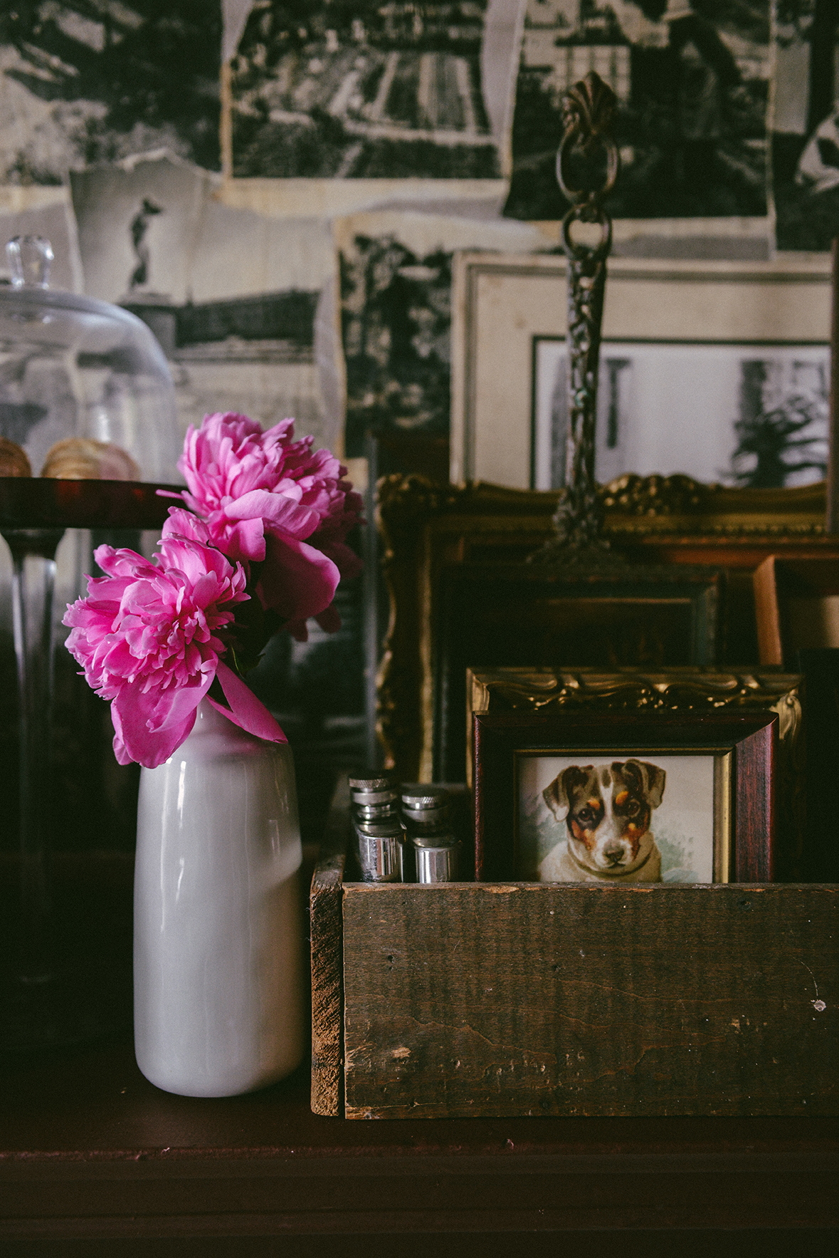Peonies Still Life // www.WithTheGrains.com