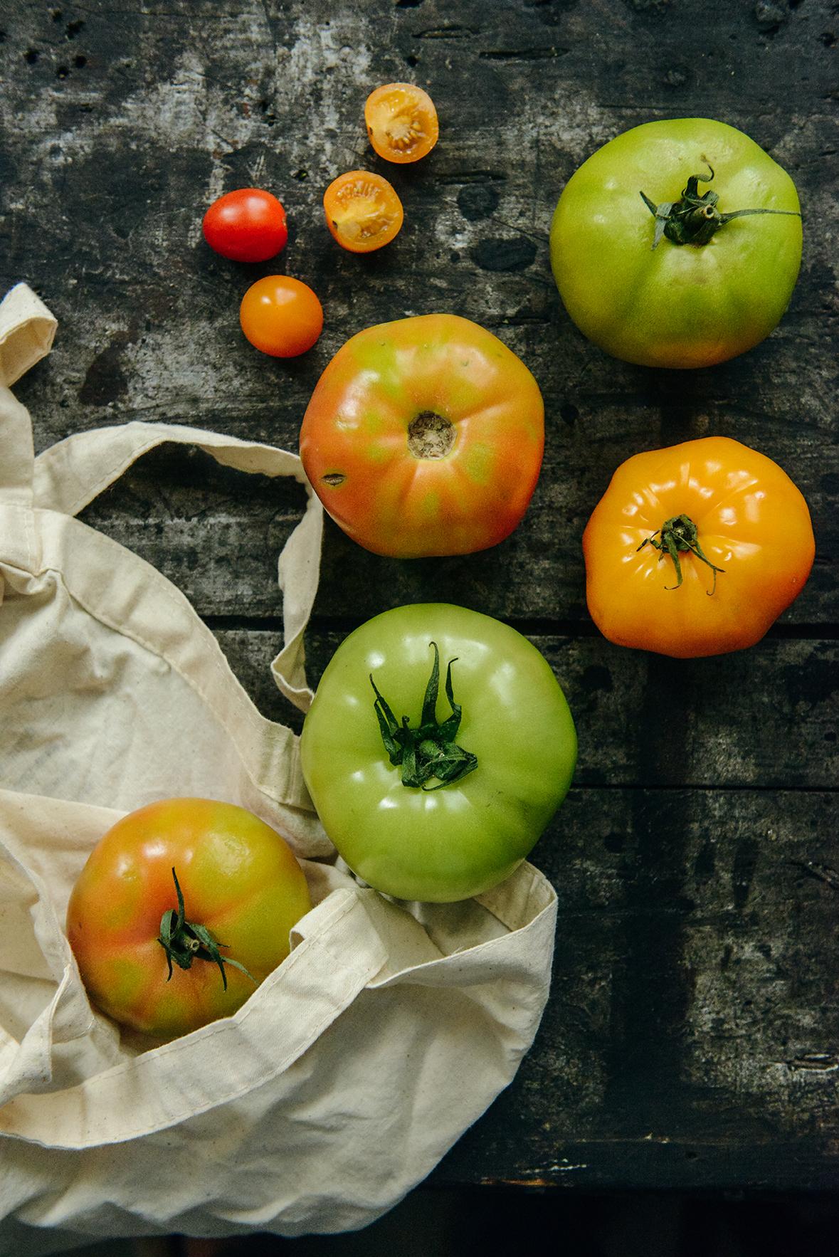 Tomato Season // www.WithTheGrains.com