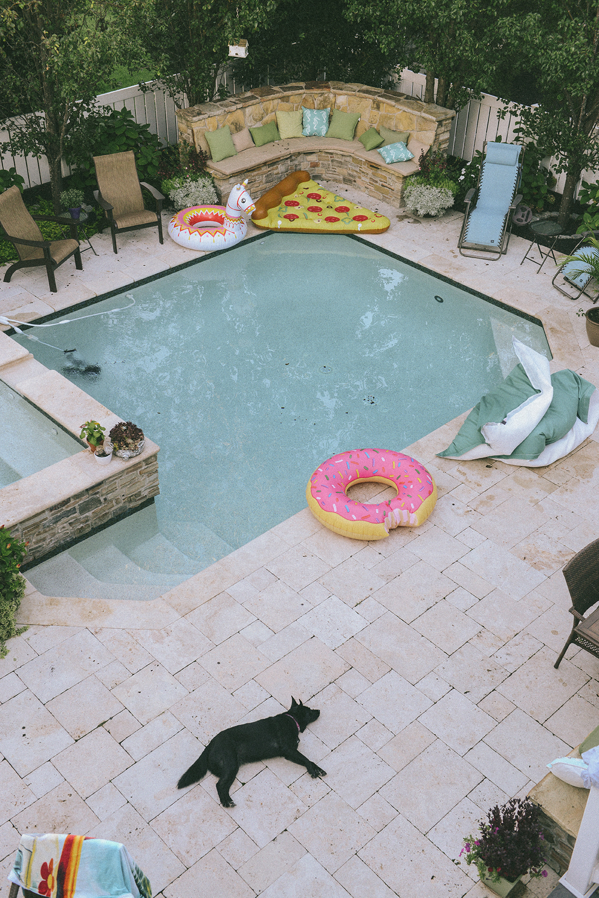 Pool life // www.WithTheGrains.com