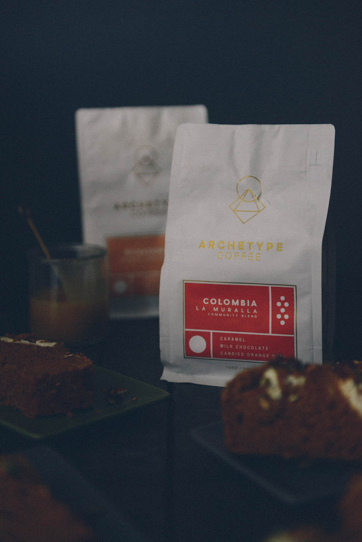 Archetype Coffee & Fresh Baked Pumpkin Bread // www.WithTheGrains.com