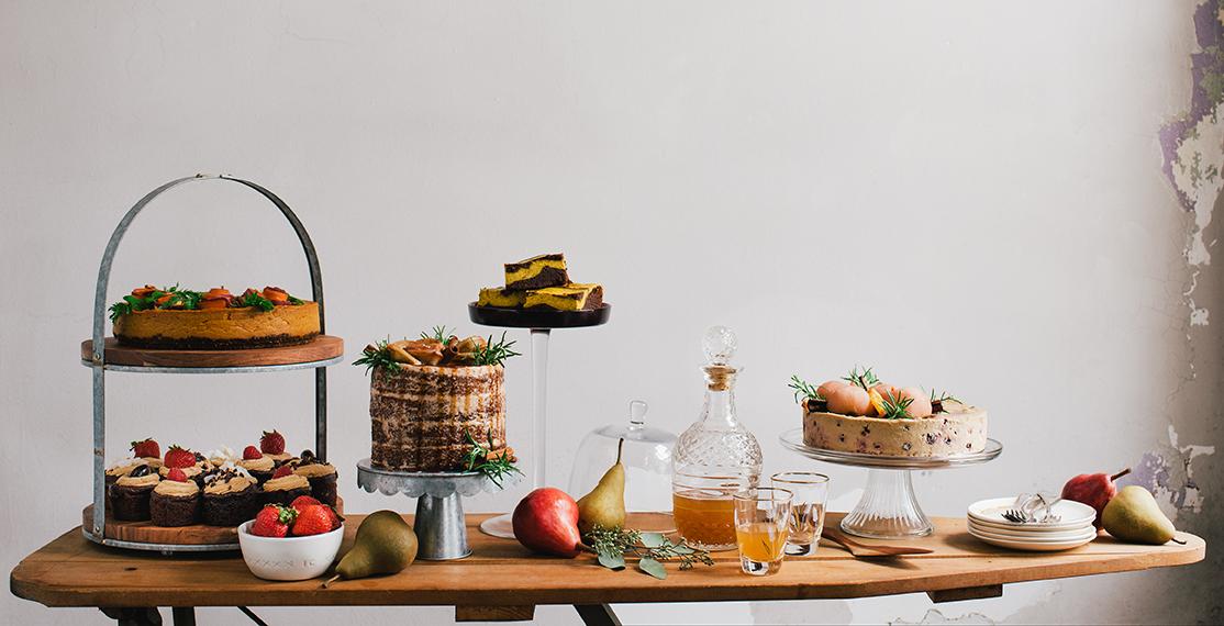 "A Spread of Gluten-Free Desserts from ""The Gluten-Free Grains Cookbook"" // www.WithTheGrains.com"