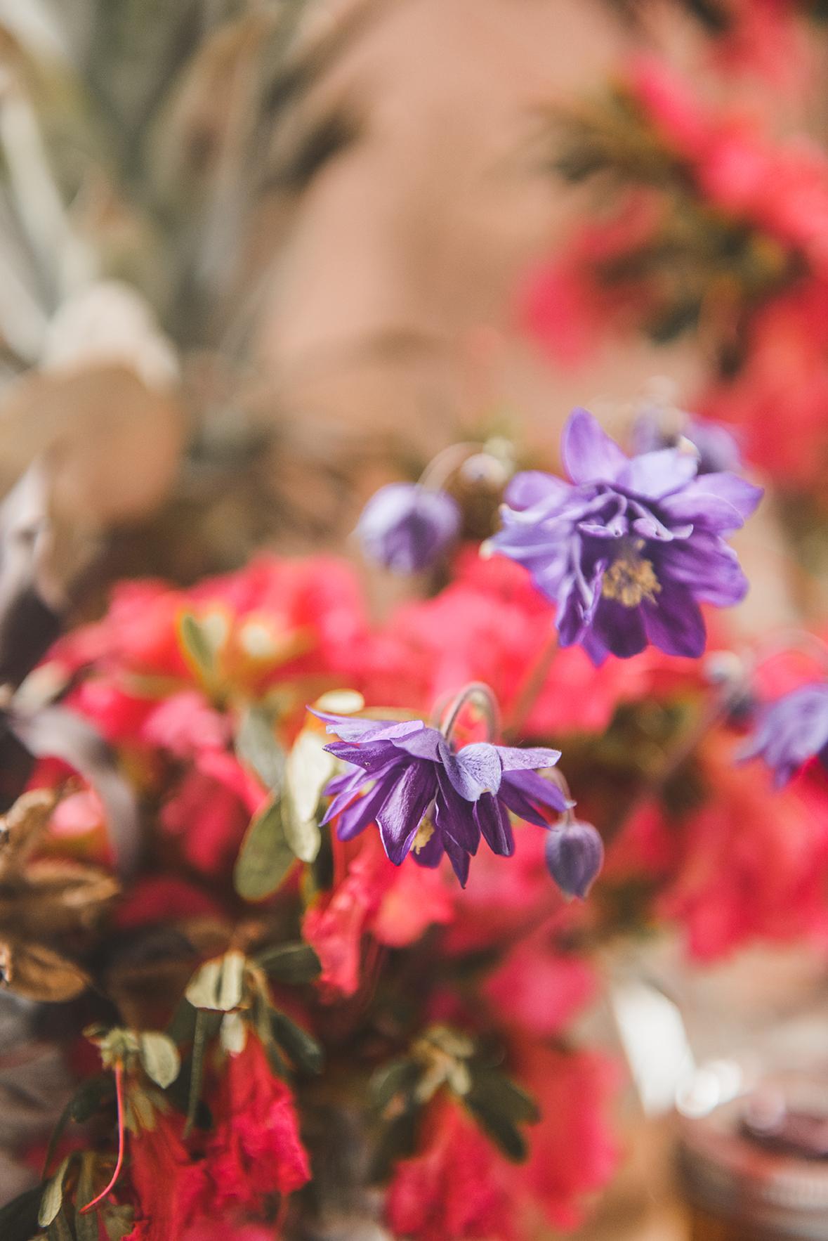 Spring Flowers // www.WithTheGrains.com