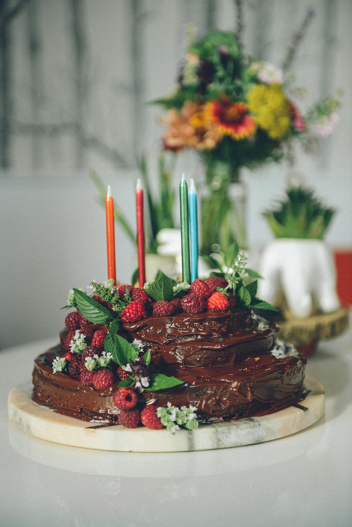 Birthday Festivities // www.WithTheGrains.com