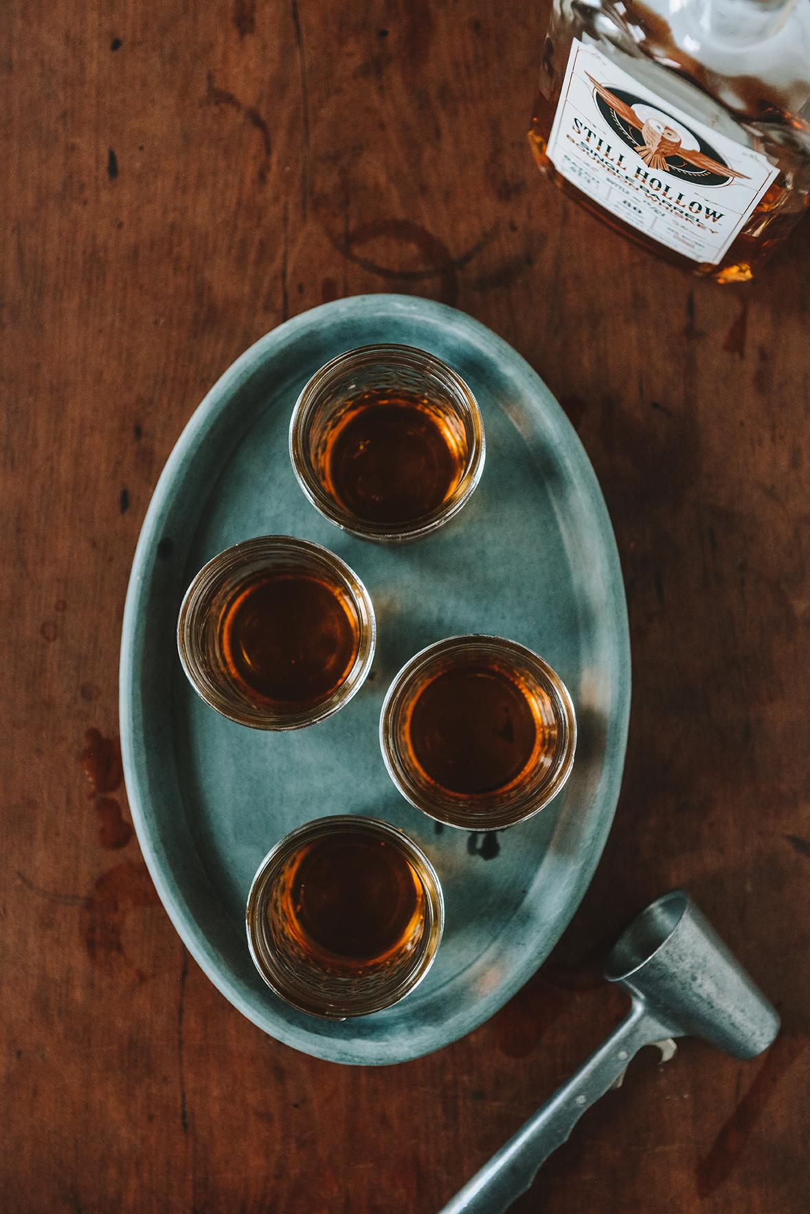 Still Hollow Single Barrel Bourbon Whiskey // www.WithTheGrains.com