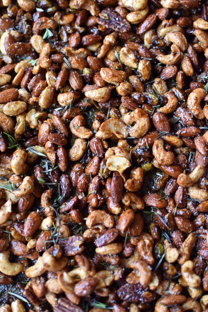 Chipotle Spiced Nuts Recipe