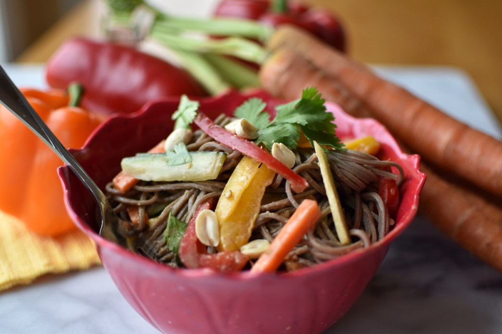 Peanut Vegetable Noodles