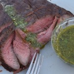 Flank Steak with Chimichurri