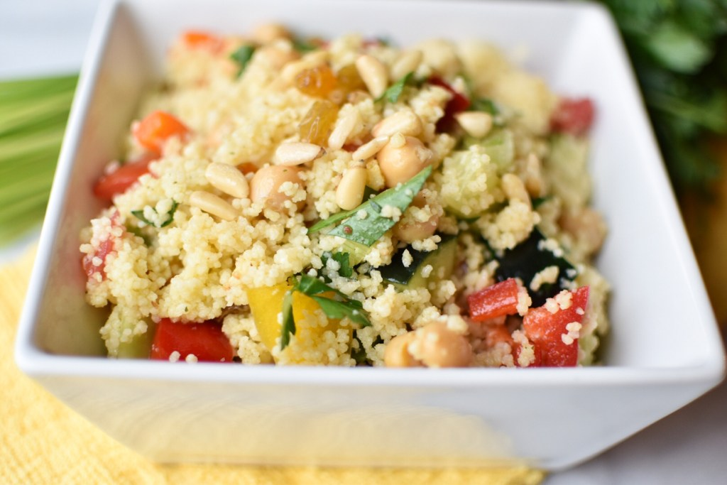 Mediterranean Couscous Salad | With Two Spoons