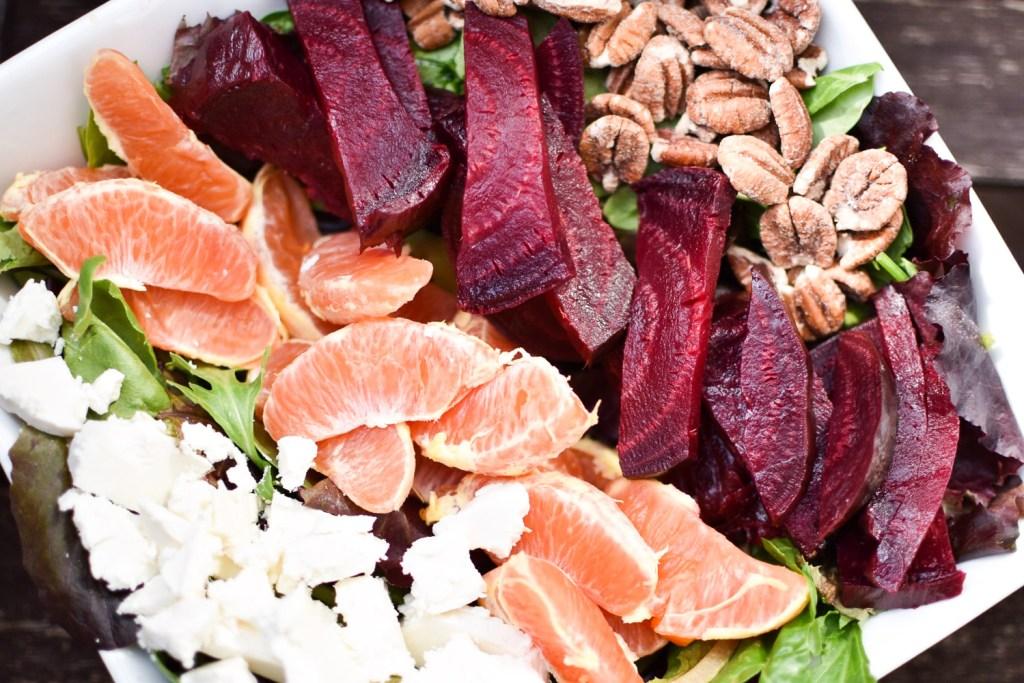 Roasted Beet and Orange Salad