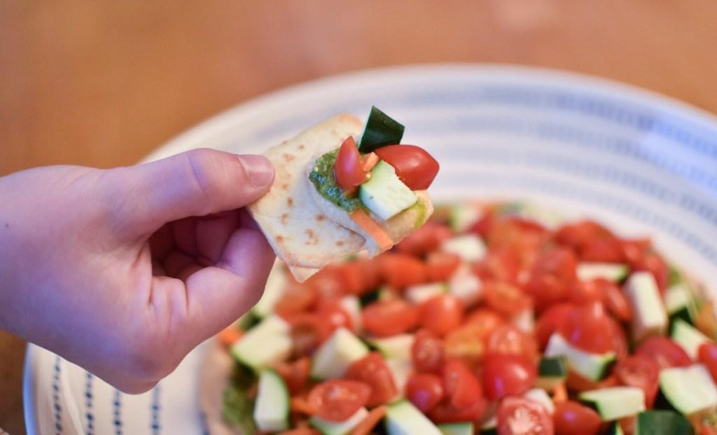 Zucchini Hummus Dip 2