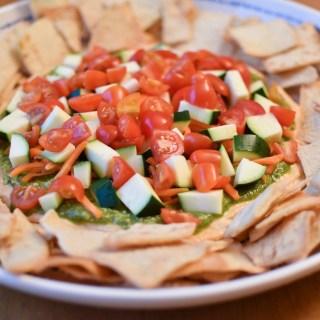 Zucchini Hummus Dip