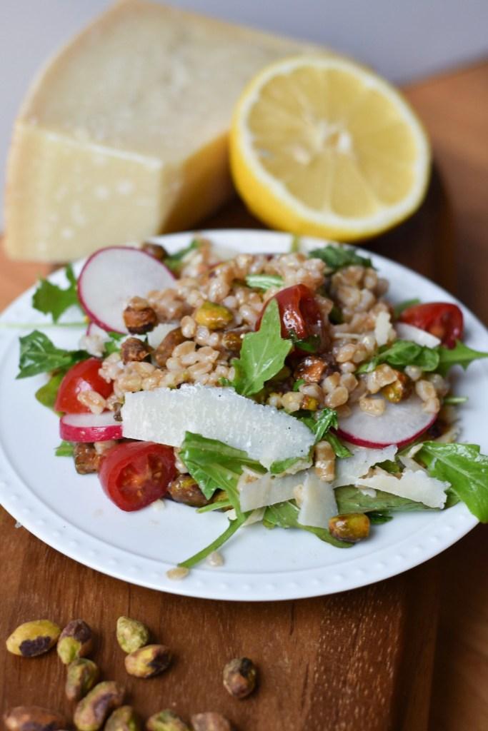 Farro Salad with Arugula