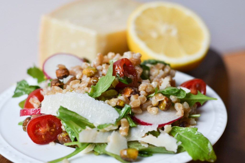 Farro Salad with Arugula