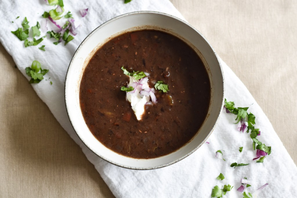 Instant Pot Chipotle Black Bean Soup
