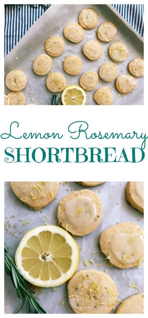Lemon Rosemary Shortbread