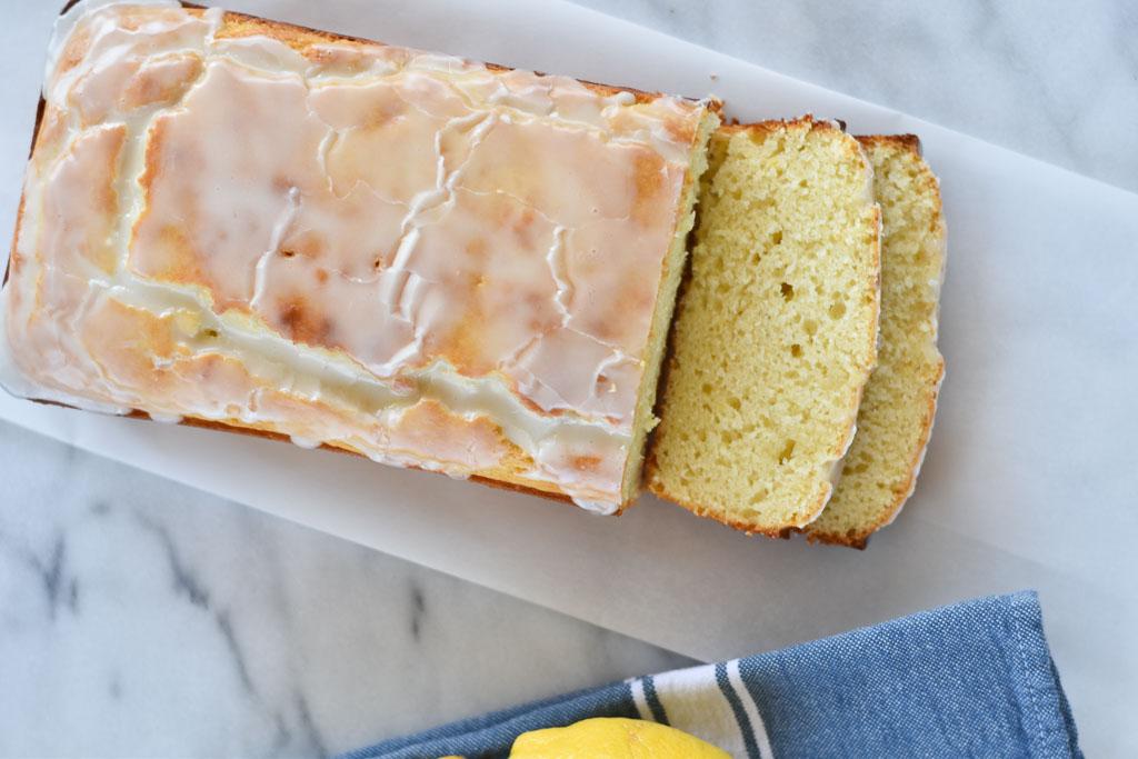 Easy Glazed Lemon Bread