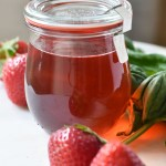 Strawberry Basil Simple Syrup