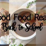 Good Food Reads: Back to School