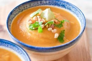 Instant Pot Thai Butternut Squash Soup