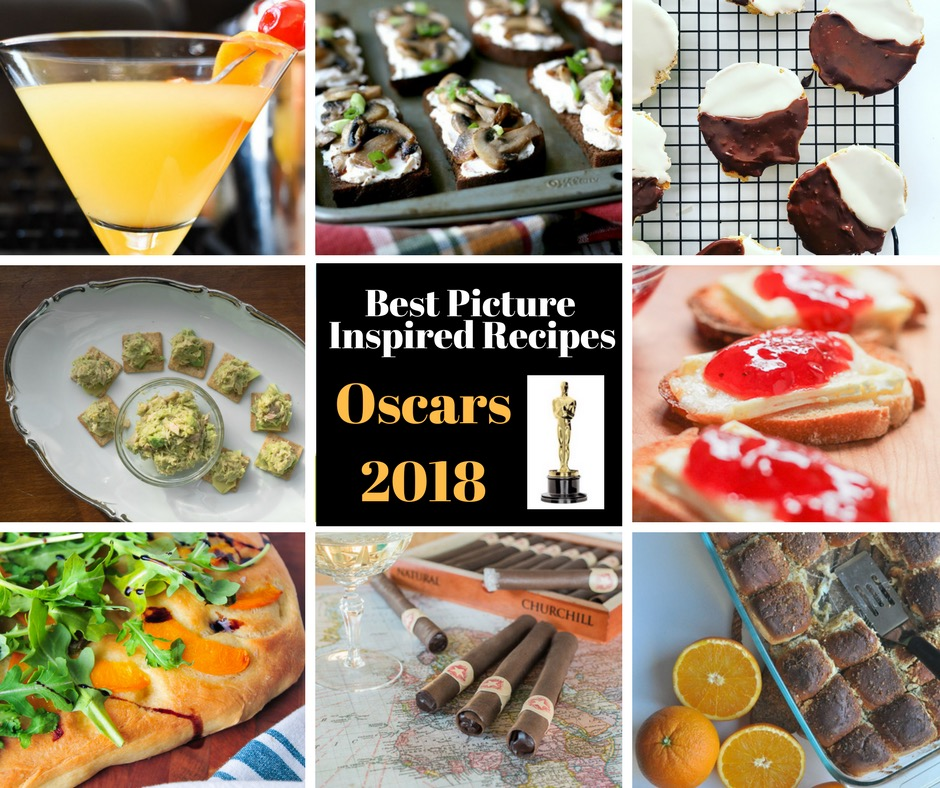 Best Picture Oscars 2018 Recipe Round up Photo