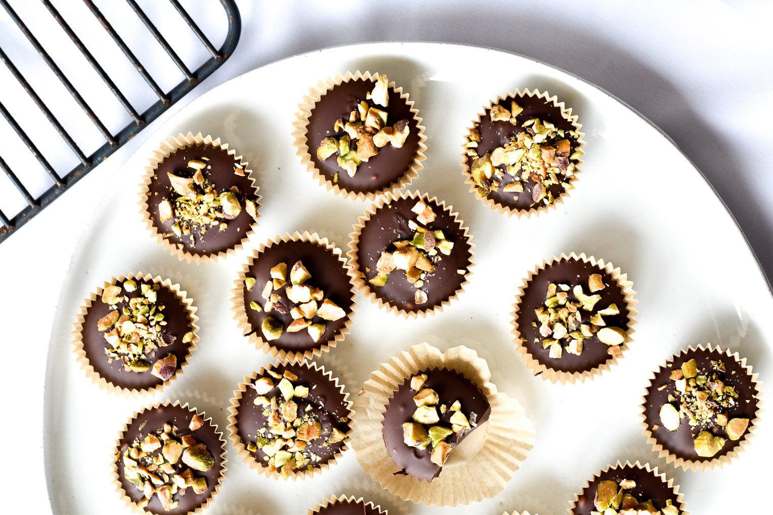 Dark Chocolate Peanut Butter Cups