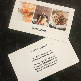 How to Start a Blog Part 2 Business Cards