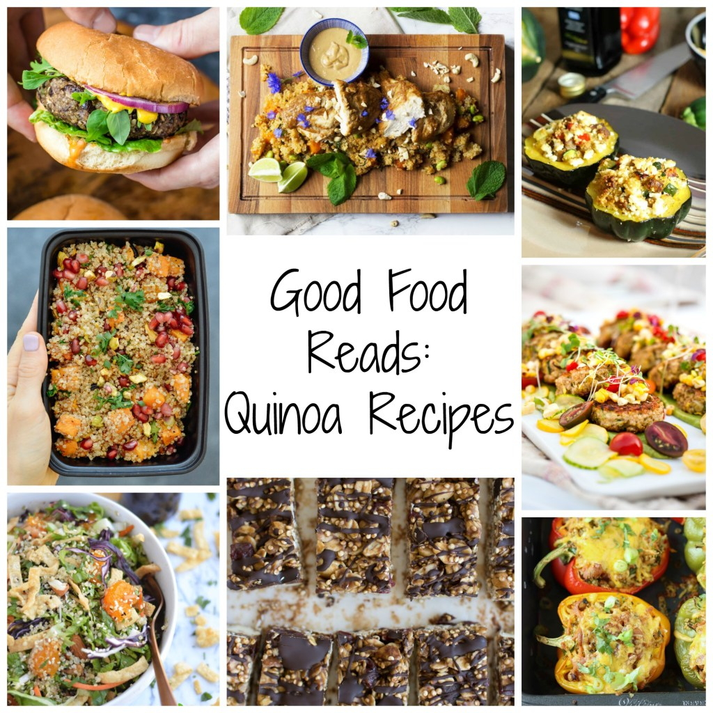 Quinoa Recipes Round Up Photo
