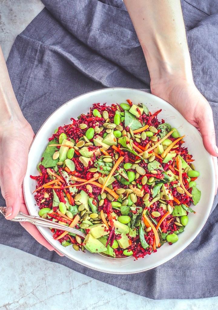Quinoa Recipe Round Up Rainbow Beet Salad