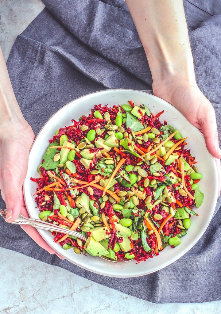 Quinoa Recipe Round Up Rainbow Beet Salad