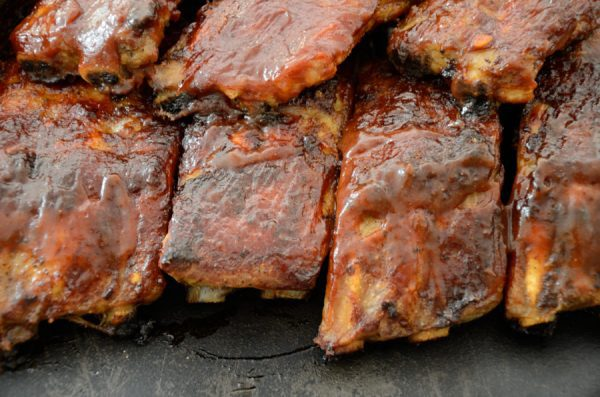Fireball Cinnamon Whiskey Ribs by The Wine Lover's Kitchen