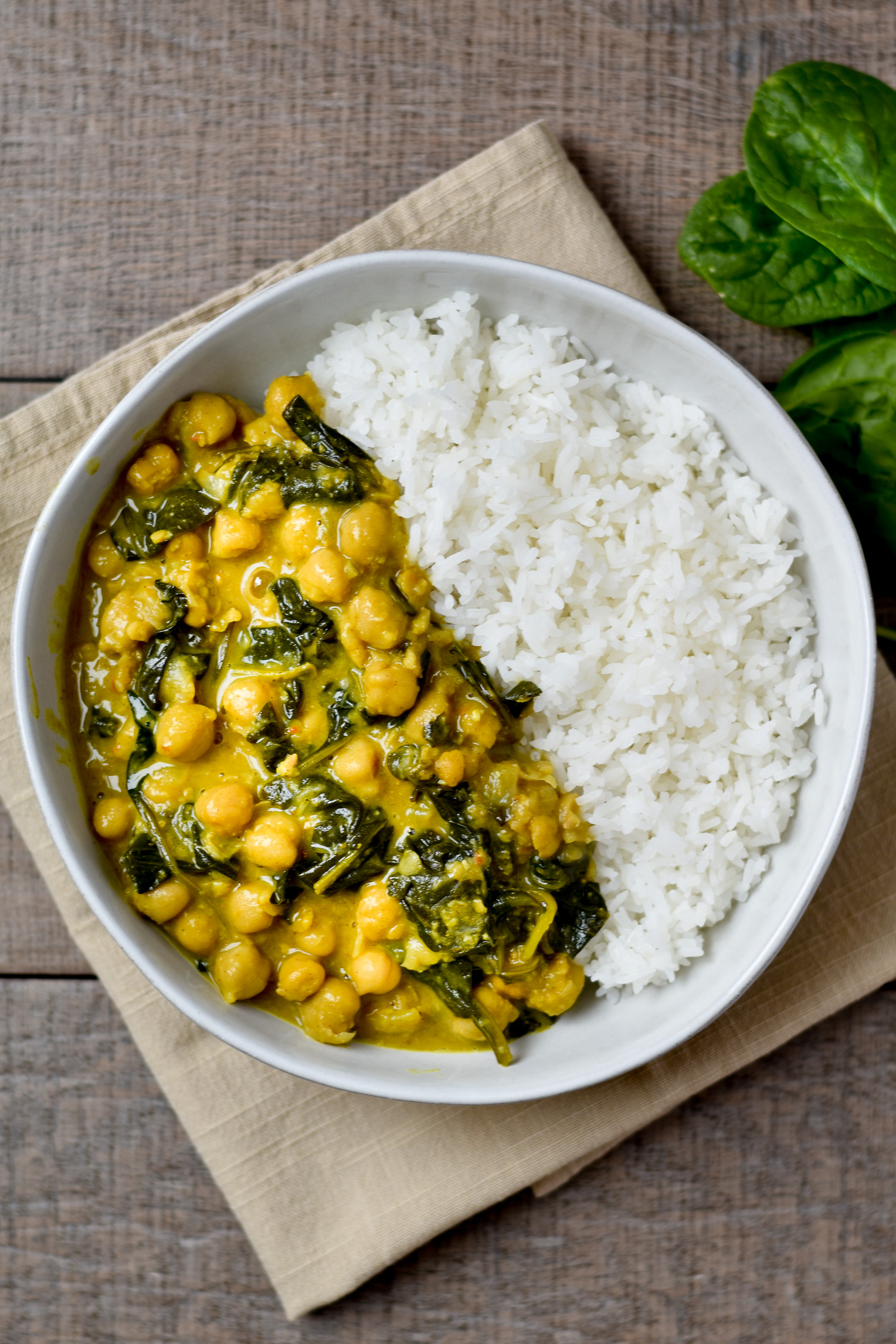 Coconut Curry Chickpeas