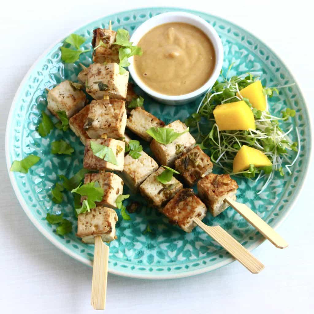 Vegan Tofu Satay by Rhian's Recipes